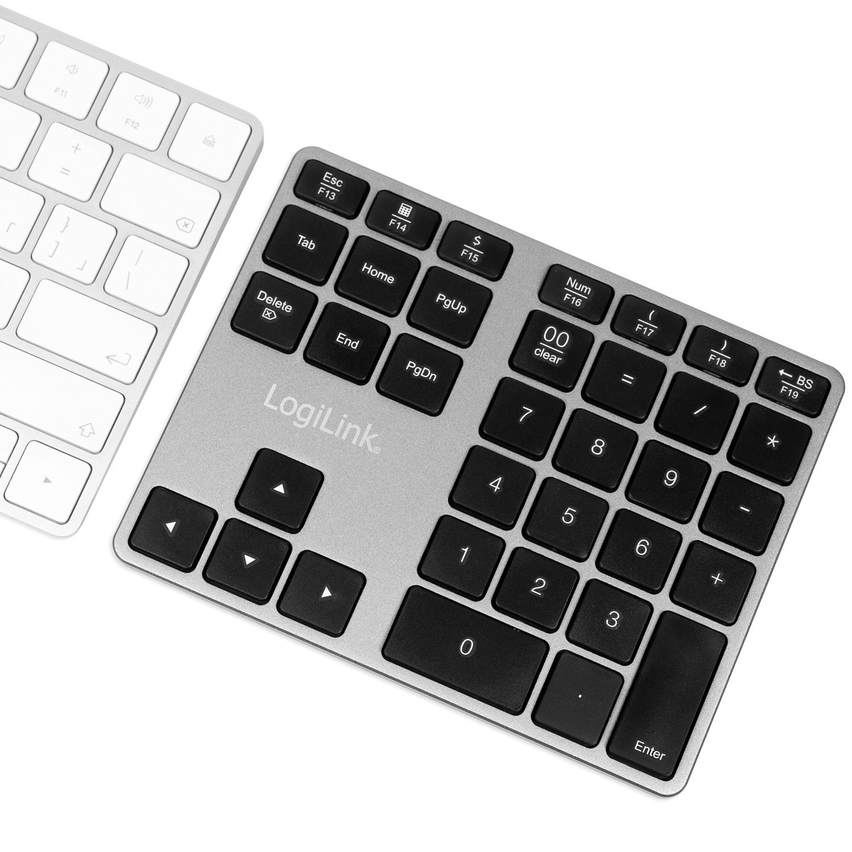 Trådlöst numeriskt tangentbord m piltangenter