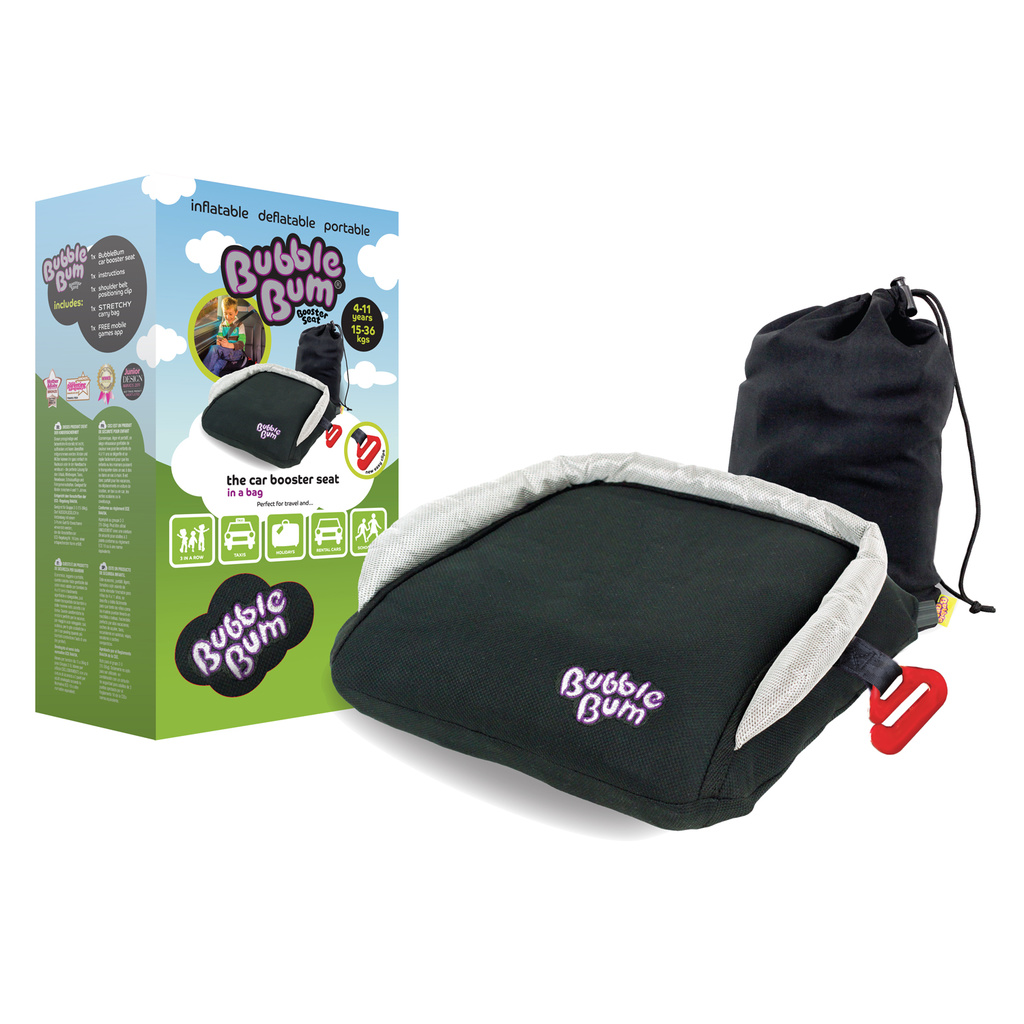 Bälteskudde BubbleBum Black