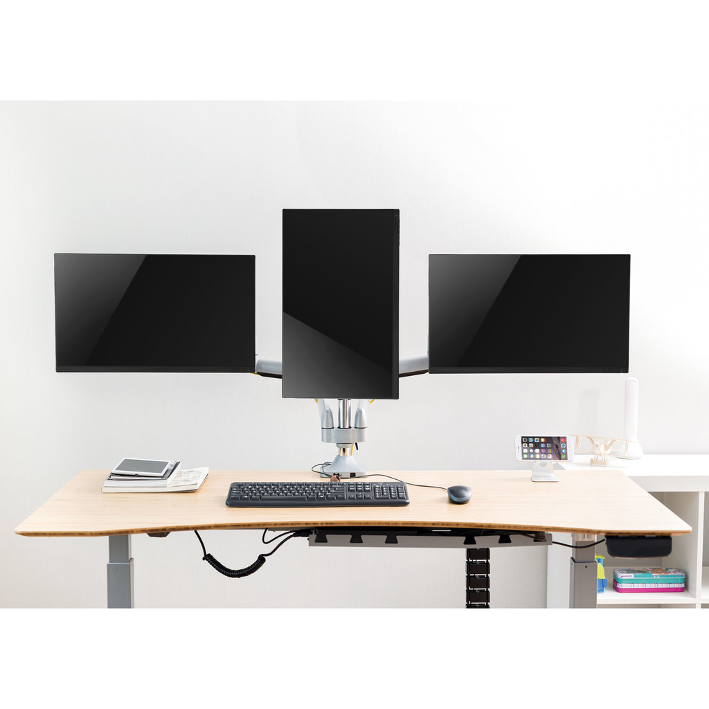 "Monitorarm trippel 13-32"" gas"