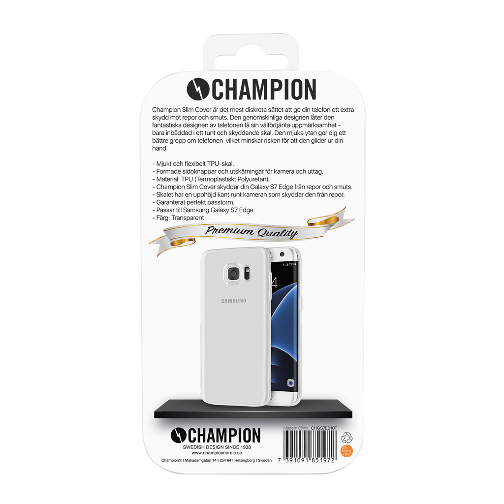 Slim Cover Trp Galaxy S7 Edge
