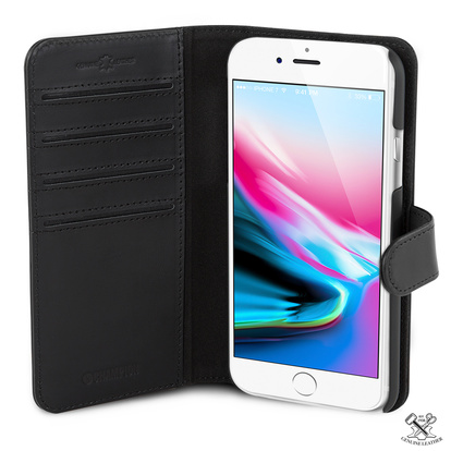 Wallet Läder Slim iPhone 7/8 S