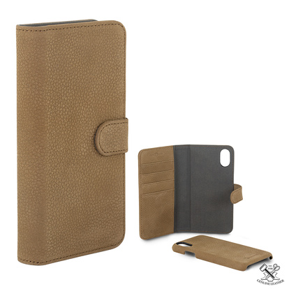 Wallet Läder iPhone X/XS Cof