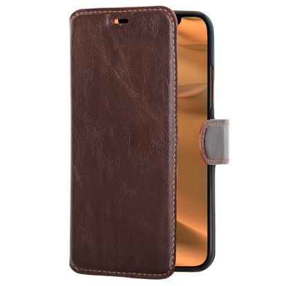 Slim Wallet Case iPhone 11 Brun