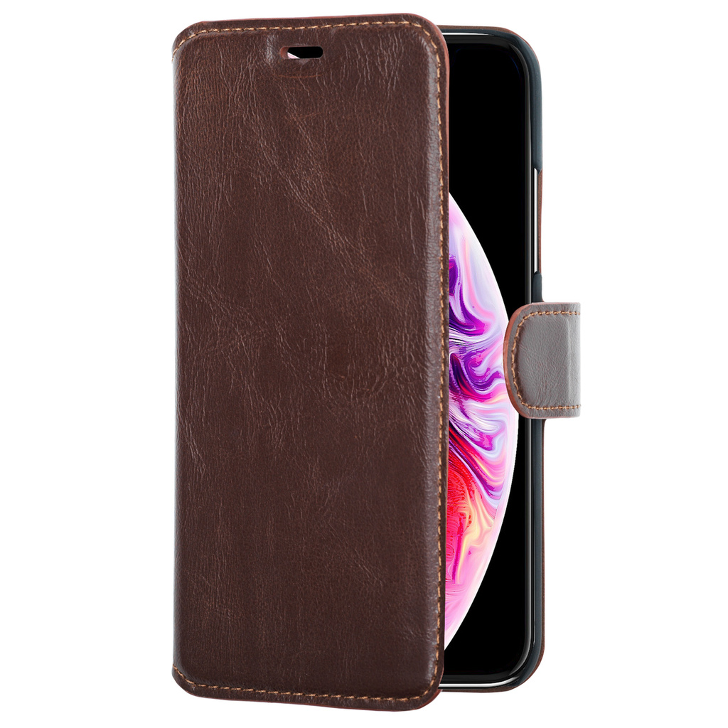 Slim Wallet Case iPhone 11 Pro Max Brun