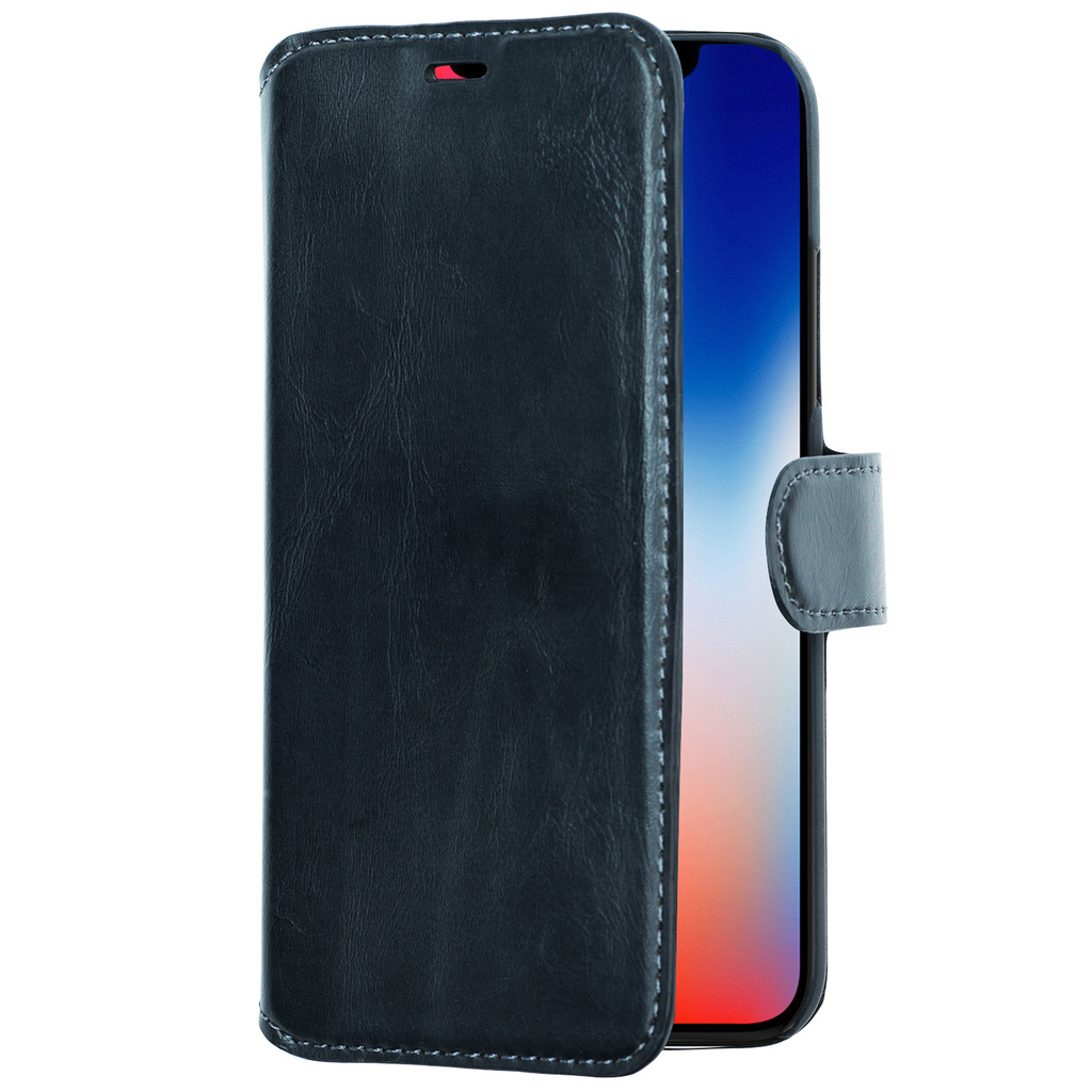 Slim Wallet Case iPhone X/XS Svart
