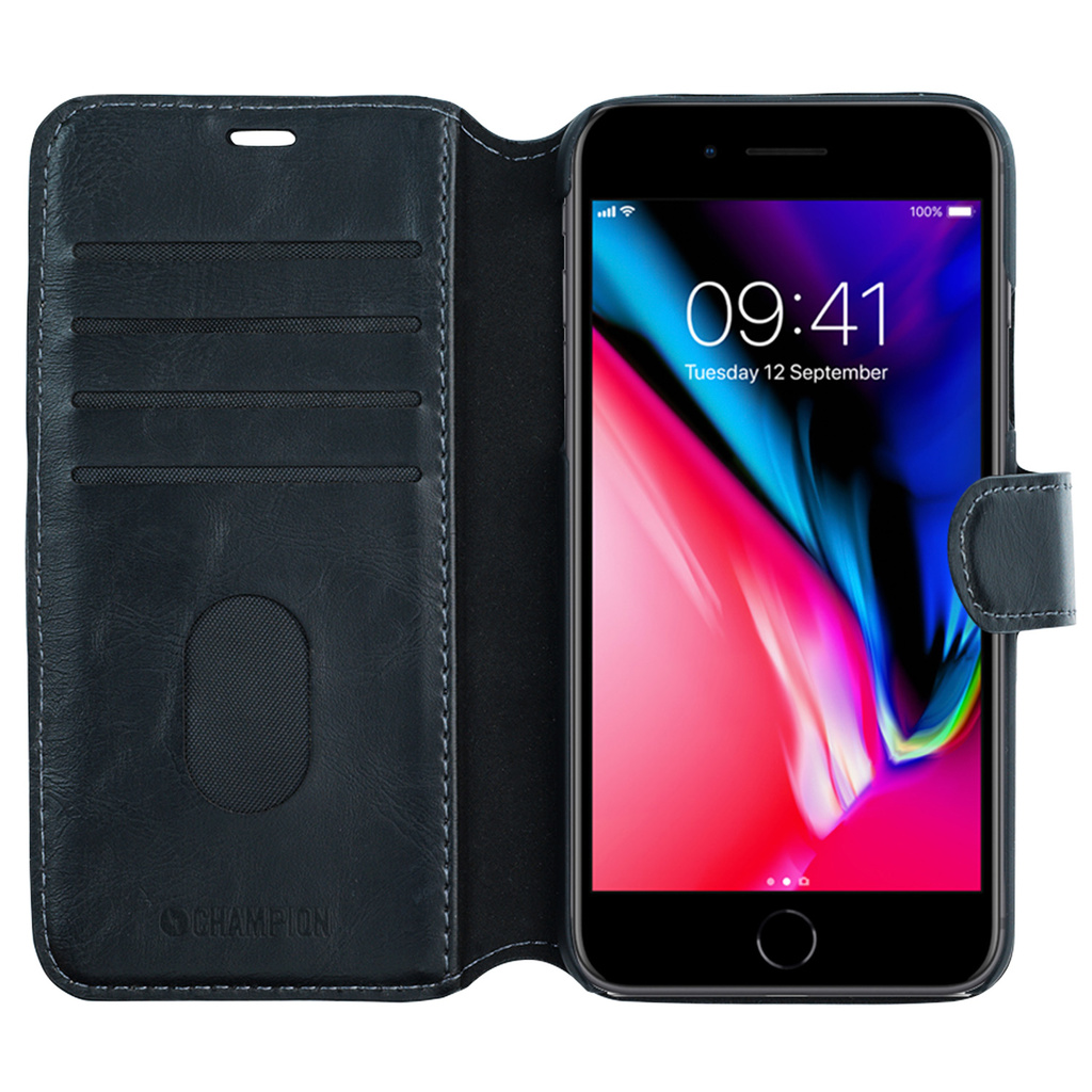 Slim Wallet Case iPhone 8/7 Plus Svart