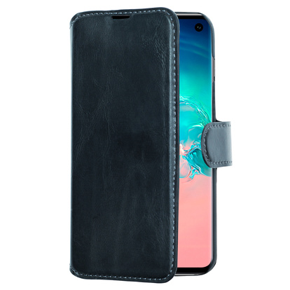 Slim Wallet Case Galaxy S10 Svart