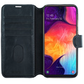 Slim Wallet Case Galaxy A50 Svart