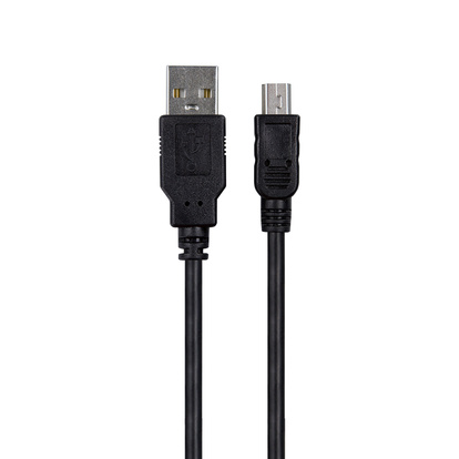 USB kabel A<->B Mini USB 1.8m