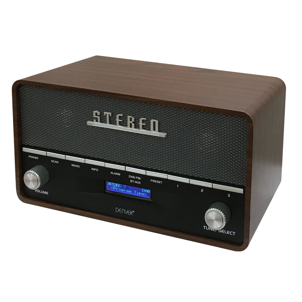 DAB+ & FM-radio Retro design
