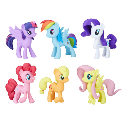 Meet The Mane 6 Ponies Collec.