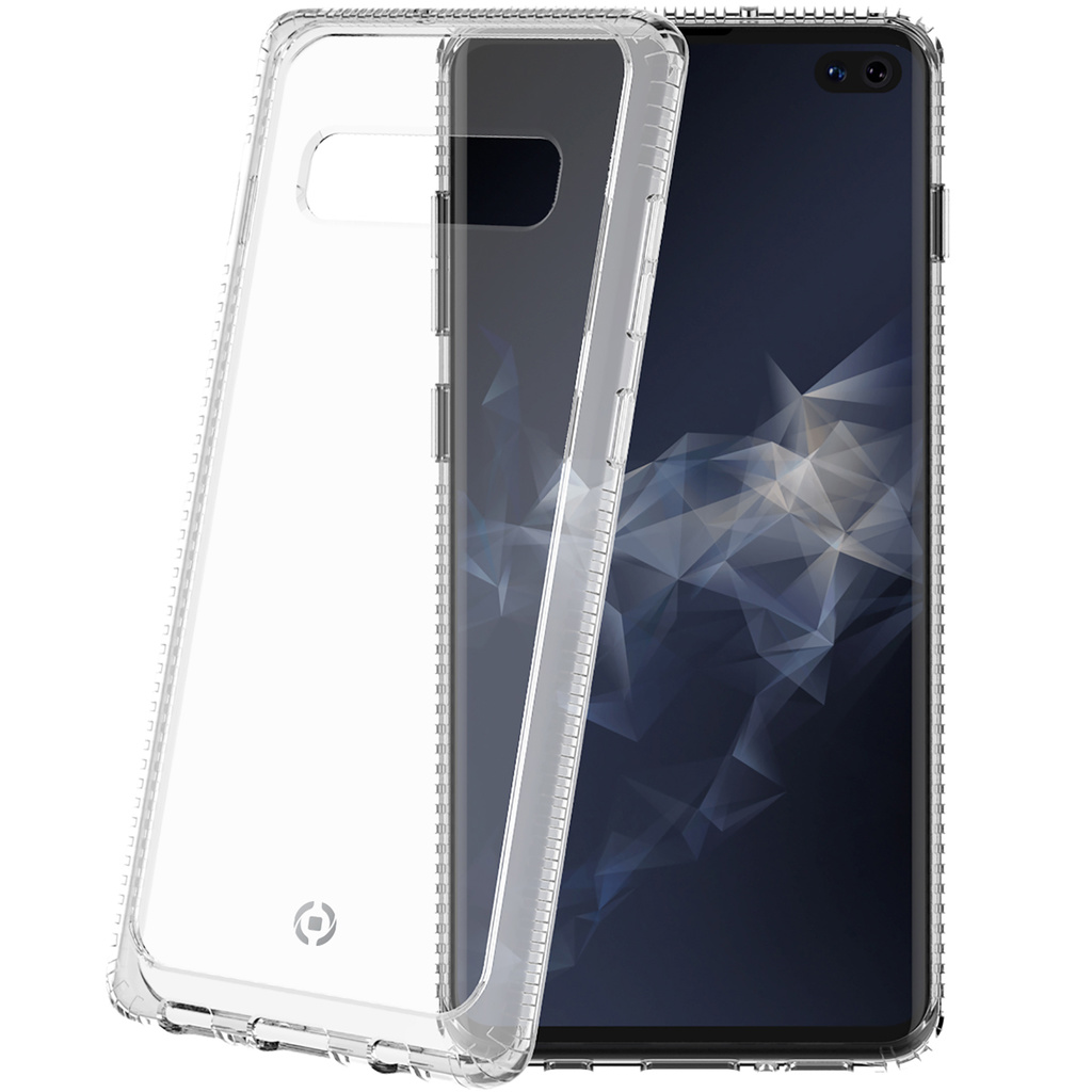 Hexagon Lite Galaxy S10+ Transparent