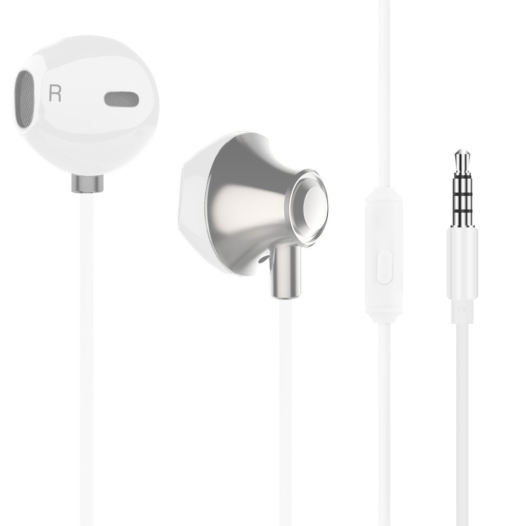 Headset EarPod HSZ500 Vit Metallic