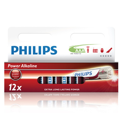 Power Alkaline AAA 12-pack
