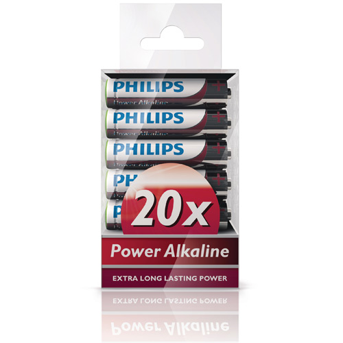 Power Alkaline AAA 20-pack
