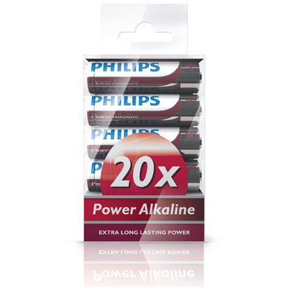 Power Alkaline AA 20-pack