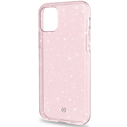 Sparkling cover iPhone 11 Rosa