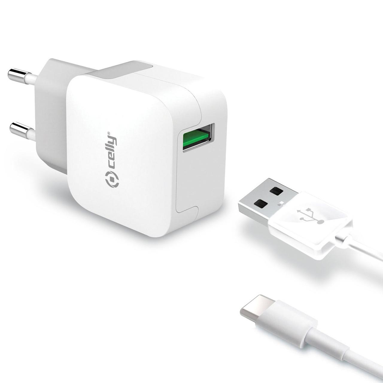 USB laddare USB C 2,4A