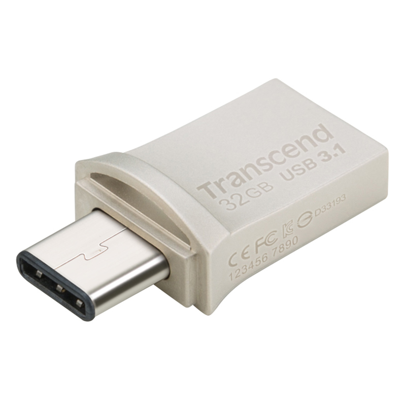 USB-minne (USB3+Type-C)  32GB