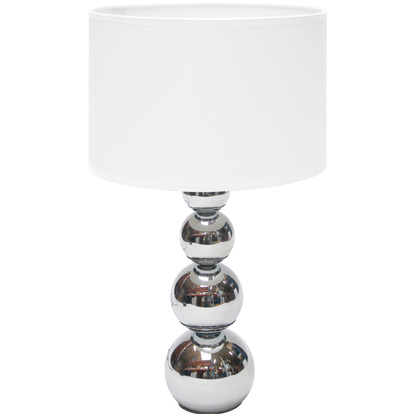 Bordslampa touch & dim L Vit