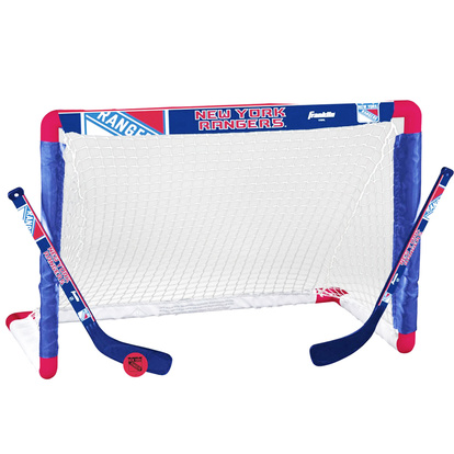 Mini hockey set m målbur NY R.
