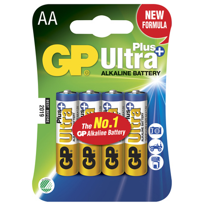 Ultra Plus Alkaline AA 4-pack