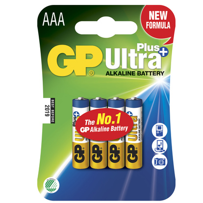 Ultra Plus Alkaline AAA 4-pack