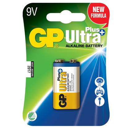 Ultra Plus Alkaline 9V 1-pack