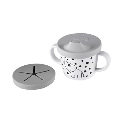 Spout/snack Cup Elphee Grey