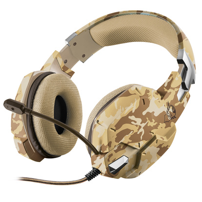 GXT 322D Gaming Headset Desert