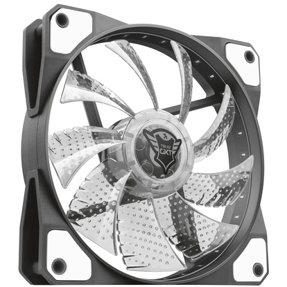 GXT 762W LED silent PC fan Wh