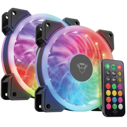 GXT 770 RGB PC Fan 2-pack