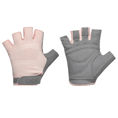 Exercise glove wmns L Pink/Gre