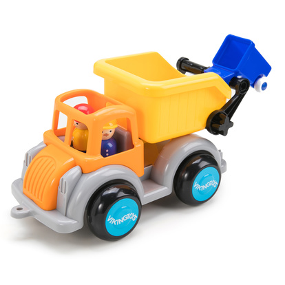 Jumbo Garbage Truck Fun Colour