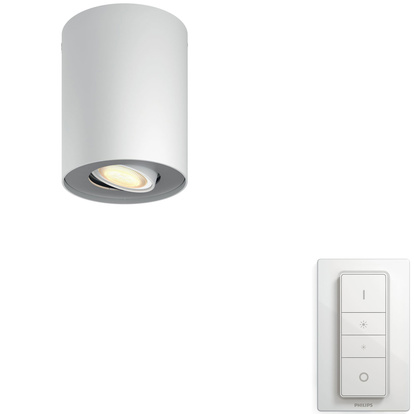 Hue Pillar White Amb single Vi