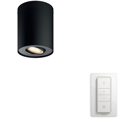 Hue Pillar White Amb single Sv