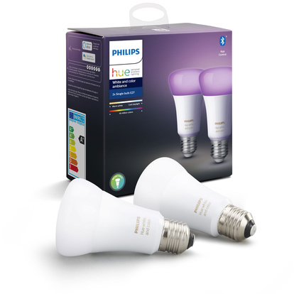 Hue White and Color E27 2-pack