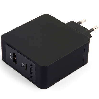 FastCharge Dual QC3/PD 45W