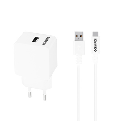Ladd&Synk Kit USB-C 2.4A Vit