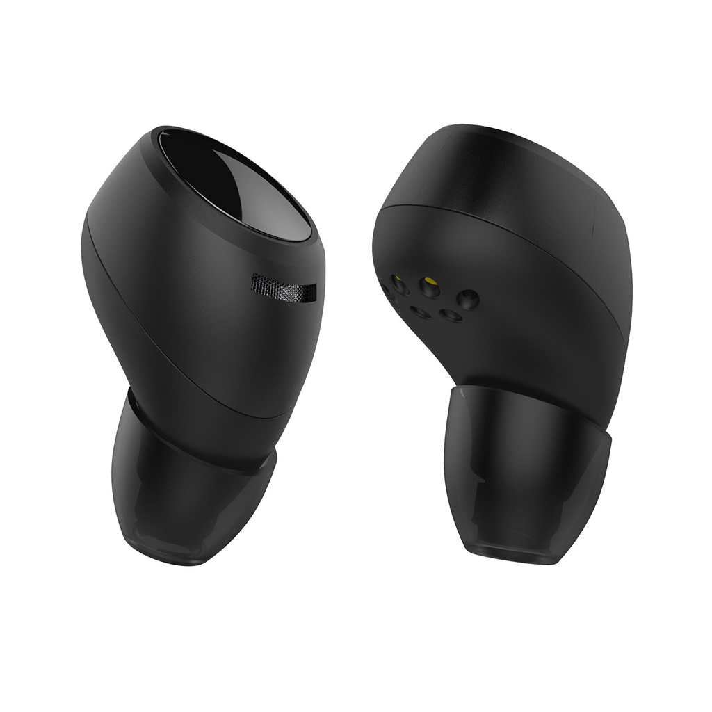 BH Twins Air Bluetooth-headset Svart