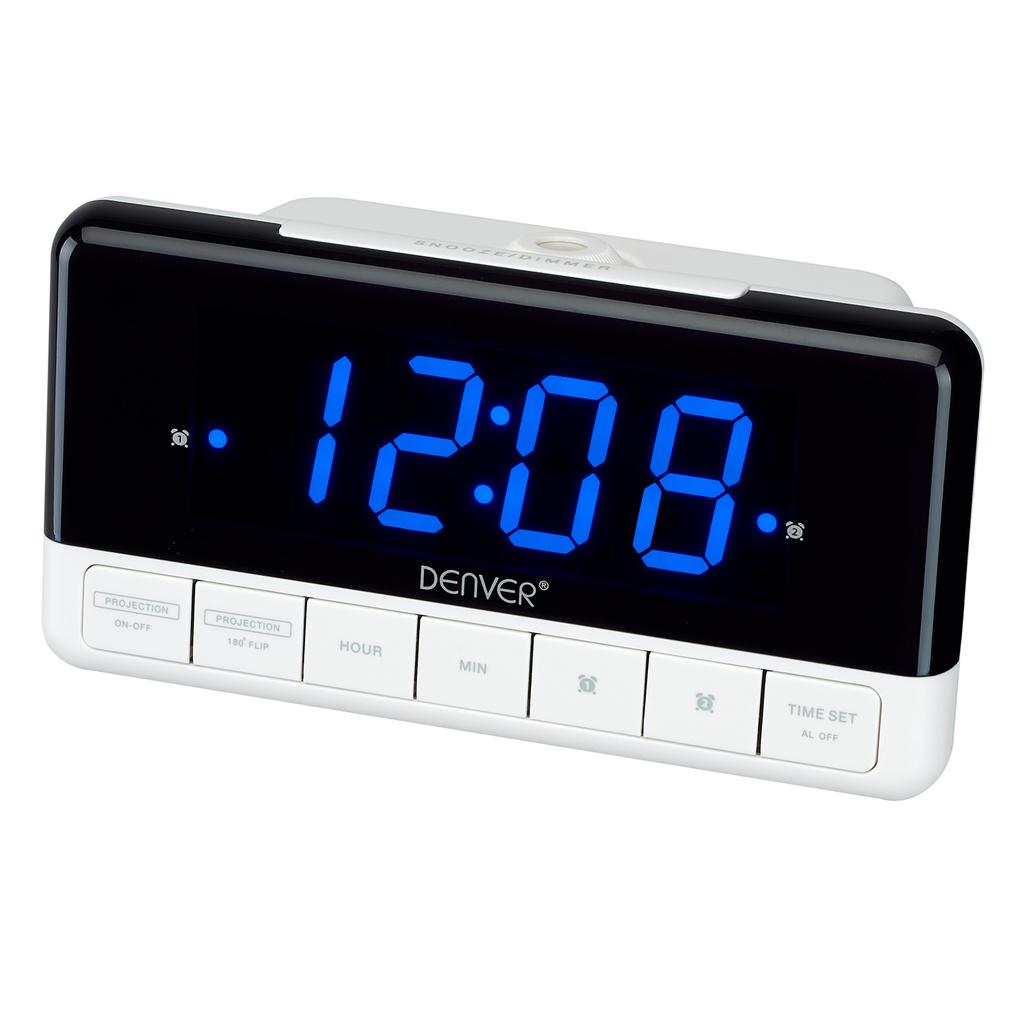 klocka med alarm