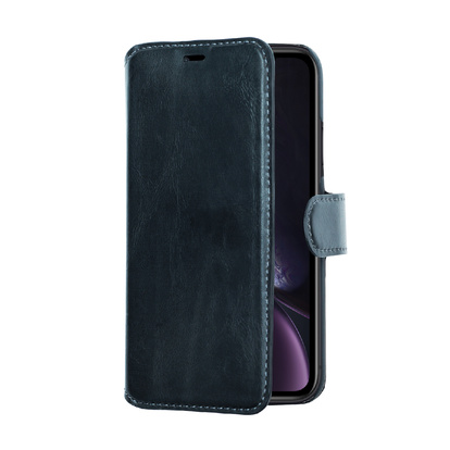 Slim Wallet Case iPhone XR Svart