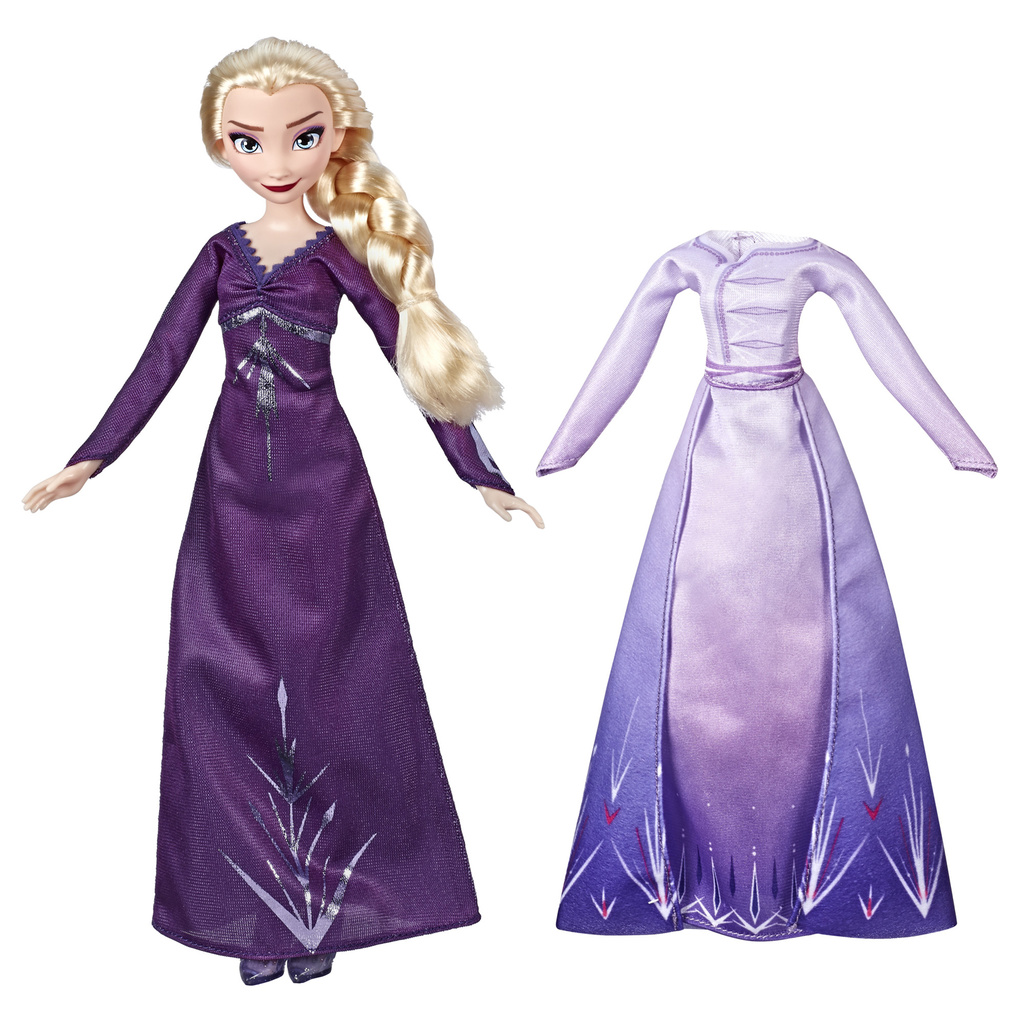 Frozen 2 Doll And Extra Elsa