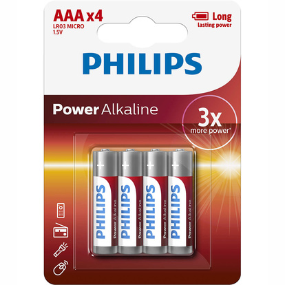Power Alkaline AAA 4-pack