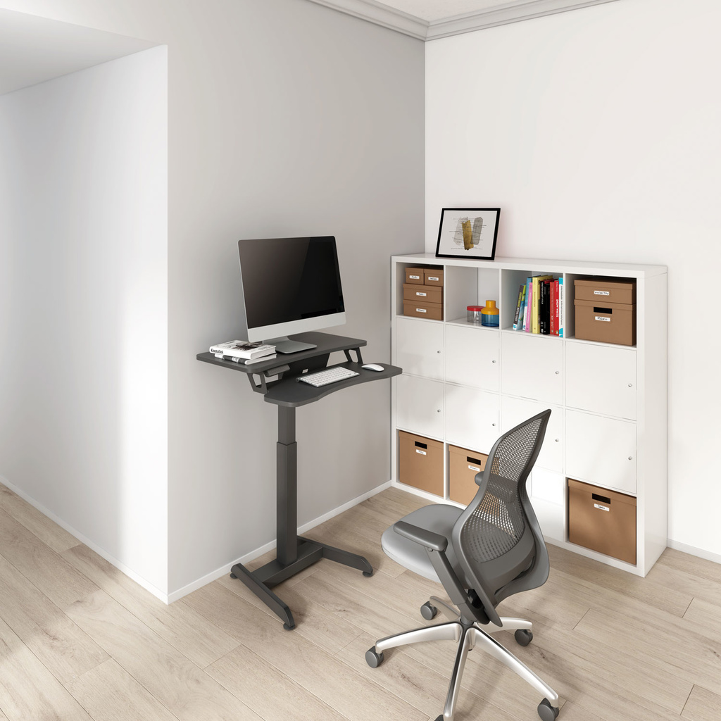 Elektriskt justerbar Sitt stå arbetsstation