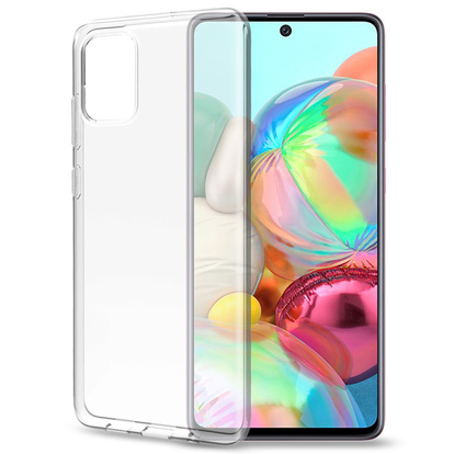Gelskin TPU Cover Galaxy A71 Transparent