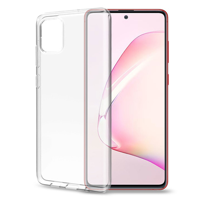Gelskin TPU Cover Galaxy S10 Lite Transparent