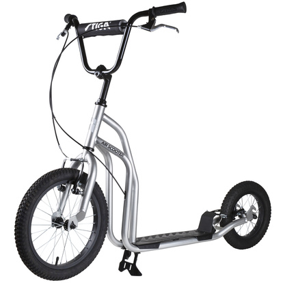 "STR Air scooter 16"" Silver"