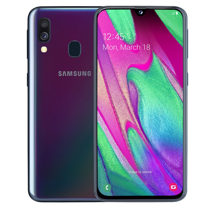 Galaxy A40 64GB Black Enterprise Edition