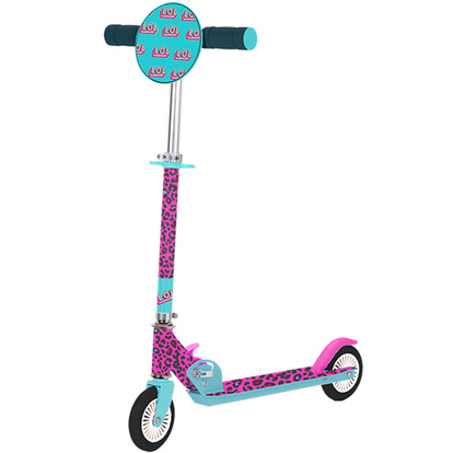 Surprise Folding Kick Scooter Leopard